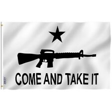 Anley Come And Take It Flag Gun Rights Tea Party Banner Polyester 3x5 Foot Flags
