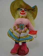 Ron Lee Doll Collection Clown Josephine Limited 14""