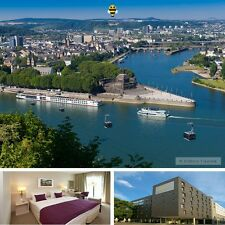 3 Tage Kurzurlaub Koblenz Rhein & Mosel Sightseeing-Paket im 3★ GHotel Kurzreise