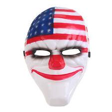 Cool Halloween PAYDAY 2 Dallas Mask Heist Joker Costume Props Cosplay Mask