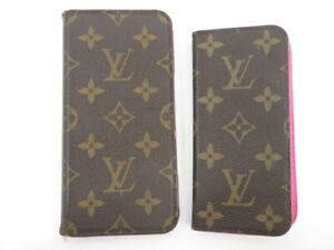 Louis Vuitton iPhone Case Set of 2 for XS Max / SE2・8・7 Pre-owned #M61906