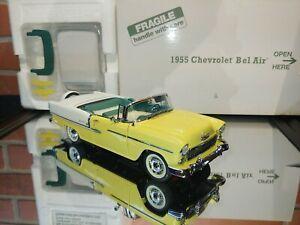 Danbury Mint 1955 Chevrolet Bel Air **MISSING HOOD ORNAMENT/PRISTINE OTHERWISE