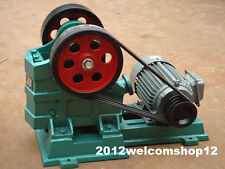 60 X 100 Jaw Crusher for gold mining, granite, concrete, gravel, rock crushing