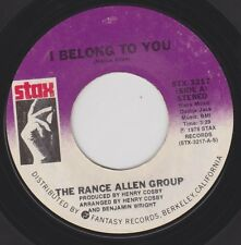 RANCE ALLEN GROUP {70s Soul Funk} I Belong To You / The Wheel Of Life ♫HEAR