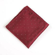 Classic Mens Dots Silk Handkerchief Hanky Pocket Square Wedding Suit Napkin Tie
