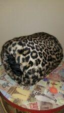 Vintage 1960s Faux Leopard Fur Muff