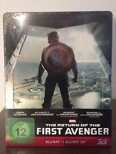 3D Steelbook The Return of the First Avenger Captain America