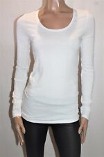 BONDS Brand White Long Sleeve Tee Size S BNWT