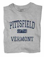 Pittsfield Vermont VT T-Shirt EST
