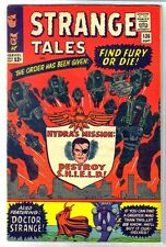 Strange Tales #136 Find Fury or Die! Marvel Comic Book ~ Vg