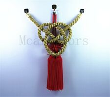 A Set Car Vip Chinese Good Luck Charms Golden Kin Tsuna Rope Red Fusa Kiku Knot
