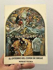 El Entierro Del Conde De Orgaz Mensaje Y Tecnica Rodriguez Bolonio Paperback