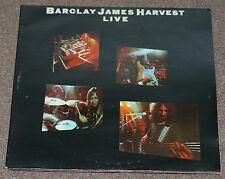 BARCLAY JAMES HARVEST LIVE 1974 UK 2xLP POLYDOR 2683 052 G/F SLEEVE