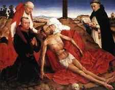 Weyden Lamentation C1464 A4 Print