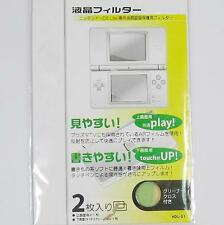 2x Top & Bottom LCD Screen Protector Film Cover for Nintendo NDS Lite DSL NDSL