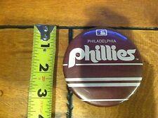 "1980'S PHILADELPHIA PHILLIES PIN BUTTON WARNER FUSSELLE 3"""
