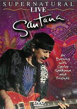 Santana ~ Supernatural Live ~ DVD dts ~ FREE Shipping USA