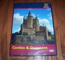 CASTLES & DUNGEONS Castle Dungeon Torture War Medieval History Channel DVD NEW