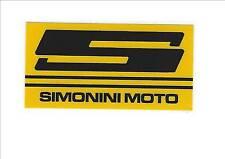 Adesivi parafango Simonini  anni '70 2 pezzi