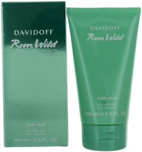 Run Wild By Davidoff For Women Shower Gel 5oz New