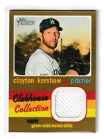 2020 Topps Heritage Clubhouse Collection Relic Gold #CCRCK Clayton Kershaw /99