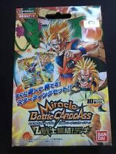 Carte Dragon Ball Z DBZ Miracle Battle Carddass #Starter Deck 5 NEUF 2013