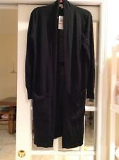 Michael Kors Black Maxi Cardigan Sweater , NWT ,orig$125 great buy
