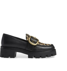 GRAND LOAFER WITH LEOPARD PRINT coach 6.5 37 coach