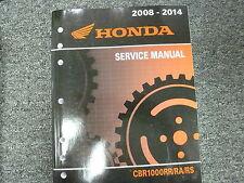 2008 2009 Honda CBR1000RR CBR1000RA CBR1000RS Motorcycle Service Repair Manual