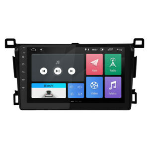"""9"""" Android 9.0 Car Radio Stereo Player GPS Navi Fit For Toyota RAV4 2013-17 Way"""