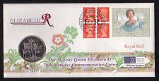 G.B. 1996 Queen's 70th Birthday Royal Mint £5 coin cover(2017/06/05#14)