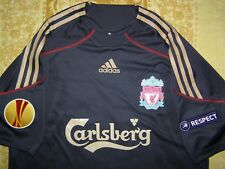 Gerrard 8 Europa League 2009 2010 Liverpool player issue shirt Formotion jersey