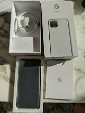 Google Clearly White Pixel 4 128GB (NIB New in Box)