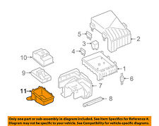 AUDI OEM 06-08 A3 2.0L-L4 Fuse Relay-Grommet 1K0971910B