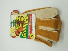 15 Pairs of Leather Garden Gloves Work Hand Glove Labour Quality bulk clearance