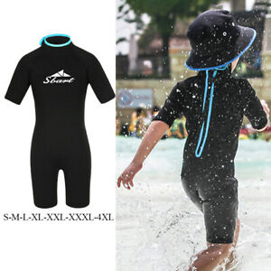 Kids diving wetsuit 2mm one piece wetsuit short sleeve diving