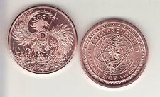 MARK of the BEAST  1 oz. Copper Round  MINI MINTAGE  #57  Silver Shield  2018
