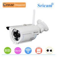 Sricam Wireless Network IP Camera 1080P HD WiFi Webcam Outdoor Security IR CCTV