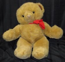 JCPENNEY J C JC PENNEY PENNY STUFFED PLUSH LARGE BIG BROWN TEDDY BEAR XMAS 1991