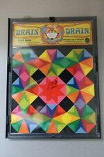 1969 Block Shock Psychadelic BRAIN DRAIN Puzzle by Mattel Vintage Brain Teaser