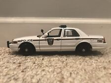 Clinton Tennessee  Police Department diecast car Motormax 1:24 scale