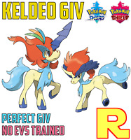6IV EVENT KELDEO (+ Item!) ⚔️ (+ITEM!) 🛡 POKEMON SWORD & SHIELD