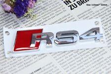 E379 RS 4  Emblem Badge auto aufkleber 3D Schriftzug Plakette car Sticker Neu