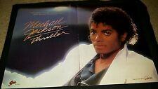 Michael Jackson Rare Thriller 10 Million Sold Original Promo Poster Ad Framed!