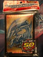 50 Bustine Protettive Yu-Gi-Oh! Drago Bianco Occhi blu