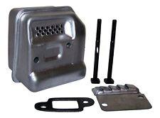 Compatible con Stihl 017 018 MS170 MS180 Escape/Silenciador, pernos y Junta