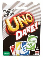 UNO Dare cards, Mattel Games, 2-10 Players - Brand New