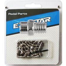 Pedalen Ersatz-Pins Silber Polier für Mountainbikes + BMX Pedal / 40 Stk.  06906