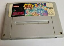 Super Nintendo SNES Puzzle Bobble PAL RARE