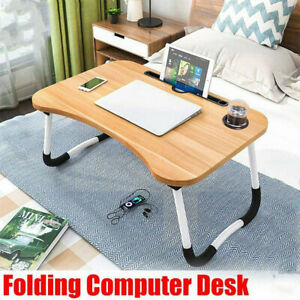 Portable Laptop Notebook Table Foldable Stand Sofa Bed Lap Tray Computer Desk US